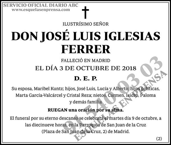 José Luis Iglesias Ferrer